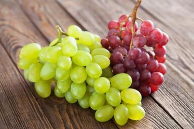 grapes for rejuvenation